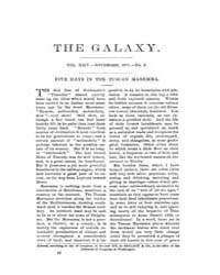 The Galaxy : Volume 0024, Issue 5 Nov 18... by Sheldon and Company