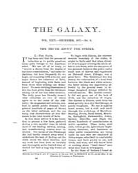 The Galaxy : Volume 0024, Issue 6 Dec 18... by Sheldon and Company