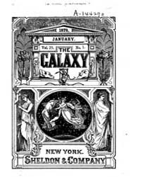 The Galaxy : Volume 0025, Issue 1 Januar... by Sheldon and Company