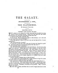 The Galaxy : Volume 0002, Issue 5 Novemb... by Sheldon and Company