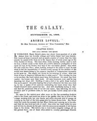 The Galaxy : Volume 0002, Issue 6 Novemb... by Sheldon and Company