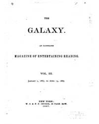 The Galaxy : Volume 0003, Issue 1 Januar... by Sheldon and Company
