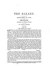 The Galaxy : Volume 0003, Issue 2 Januar... by Sheldon and Company