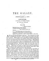 The Galaxy : Volume 0003, Issue 3 Februa... by Sheldon and Company