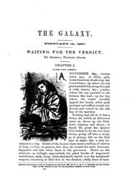 The Galaxy : Volume 0003, Issue 4 Februa... by Sheldon and Company