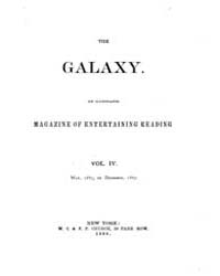 The Galaxy : Volume 0004, Issue 1 May 18... by Sheldon and Company