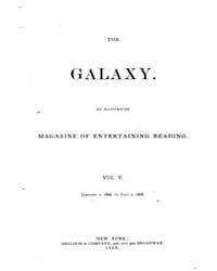 The Galaxy : Volume 0005, Issue 1 Jan 18... by Sheldon and Company