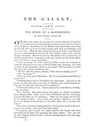 The Galaxy : Volume 0005, Issue 2 Feb 18... by Sheldon and Company