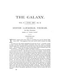 The Galaxy : Volume 0005, Issue 6 June 1... by Sheldon and Company