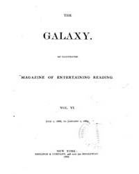 The Galaxy : Volume 0006, Issue 1 July 1... by Sheldon and Company