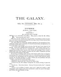 The Galaxy : Volume 0006, Issue 4 Oct 18... by Sheldon and Company