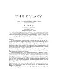 The Galaxy : Volume 0006, Issue 5 Nov 18... by Sheldon and Company
