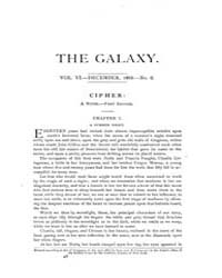 The Galaxy : Volume 0006, Issue 6 Dec 18... by Sheldon and Company