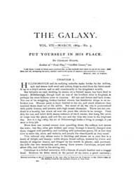 The Galaxy : Volume 0007, Issue 3 March ... by Sheldon and Company