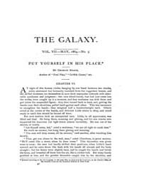 The Galaxy : Volume 0007, Issue 5 May 18... by Sheldon and Company