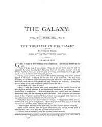The Galaxy : Volume 0007, Issue 6 June 1... by Sheldon and Company