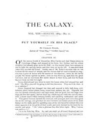 The Galaxy : Volume 0008, Issue 2 Aug 18... by Sheldon and Company