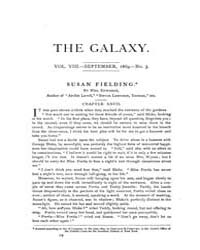 The Galaxy : Volume 0008, Issue 3 Sept 1... by Sheldon and Company