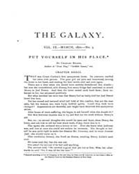 The Galaxy : Volume 0009, Issue 3 March ... by Sheldon and Company
