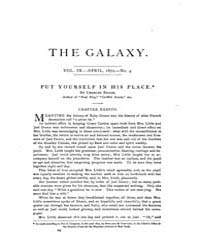 The Galaxy : Volume 0009, Issue 4 April ... by Sheldon and Company