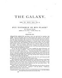 The Galaxy : Volume 0009, Issue 5 May 18... by Sheldon and Company