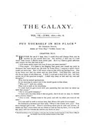 The Galaxy : Volume 0009, Issue 6 June 1... by Sheldon and Company