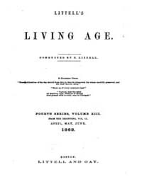 The Living Age : Volume 101, Issue 1296,... by The Living Age Company
