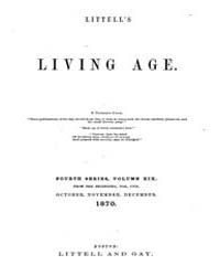The Living Age : Volume 107, Issue 1374,... by The Living Age Company
