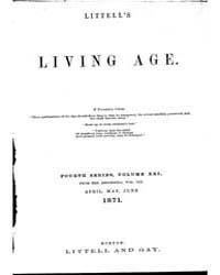The Living Age : Volume 109, Issue 1400,... by The Living Age Company