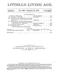 The Living Age : Volume 119, Issue 1542,... by The Living Age Company