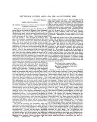 The Living Age : Volume 11, Issue 126, O... by The Living Age Company