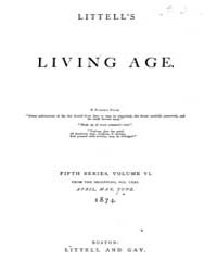 The Living Age : Volume 121, Issue 1556,... by The Living Age Company