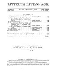 The Living Age : Volume 123, Issue 1587,... by The Living Age Company