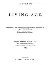 The Living Age : Volume 126, Issue 1621,... by The Living Age Company
