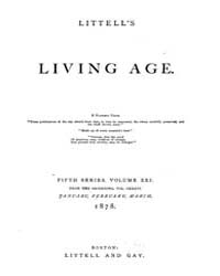 The Living Age : Volume 136, Issue 1751,... by The Living Age Company