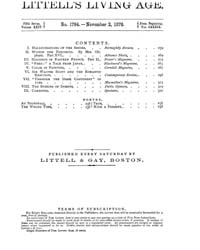 The Living Age : Volume 139, Issue 1794,... by The Living Age Company