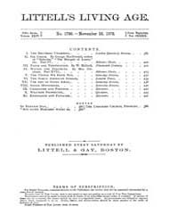 The Living Age : Volume 139, Issue 1796,... by The Living Age Company