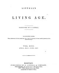 The Living Age : Volume 13, Issue 151, A... by The Living Age Company