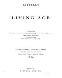 The Living Age : Volume 148, Issue 1907,... by The Living Age Company