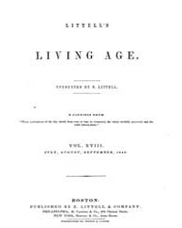 The Living Age : Volume 18, Issue 216, J... by The Living Age Company