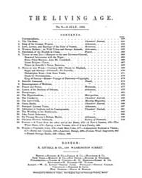 The Living Age : Volume 0001, Issue 8, J... by The Living Age Company