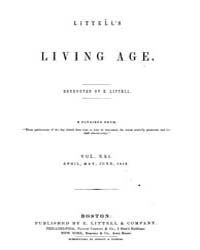 The Living Age : Volume 21, Issue 255, A... by The Living Age Company