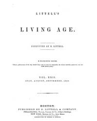 The Living Age : Volume 22, Issue 268, J... by The Living Age Company