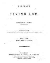 The Living Age : Volume 25, Issue 307, A... by The Living Age Company