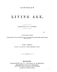 The Living Age : Volume 26, Issue 320, J... by The Living Age Company