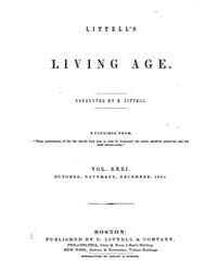 The Living Age : Volume 31, Issue 385, O... by The Living Age Company