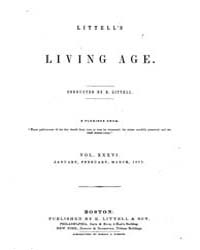 The Living Age : Volume 36, Issue 450, J... by The Living Age Company
