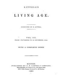 The Living Age : Volume 3, Issue 25, Nov... by The Living Age Company