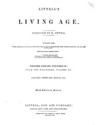 The Living Age : Volume 40, Issue 502, J... by The Living Age Company
