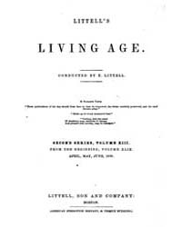 The Living Age : Volume 49, Issue 619, A... by The Living Age Company